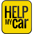 Help My Car Sticky Logo Retina